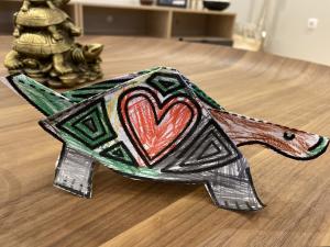 Tartaruga de carapaça apaixonada (24_02_2021, 17_05)
