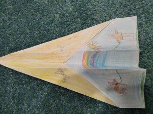 I Lavadore 1A Origami avião