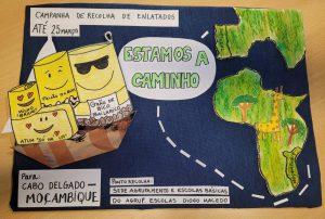 cartaz Campanha Cabo Delgado Moçambique